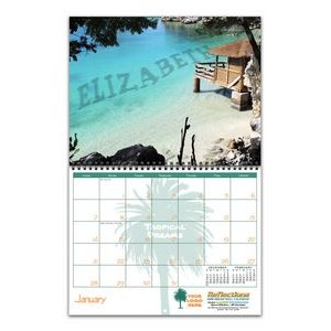 Reflections Wire-bound 13-Photo Wall Calendar