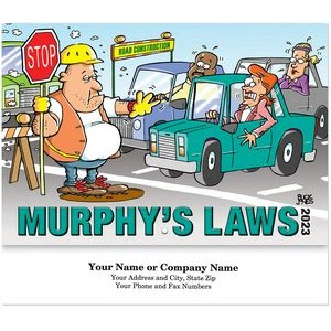 Murphy's Laws Stitched Wall Calendar
