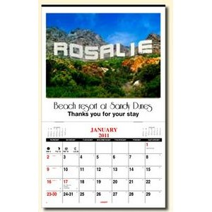 In The Image Personalized Wall Calendar (1 Image)