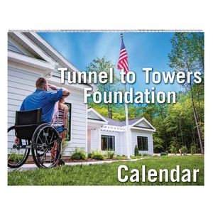 Full-Color Custom Wire Bound Wall Calendar