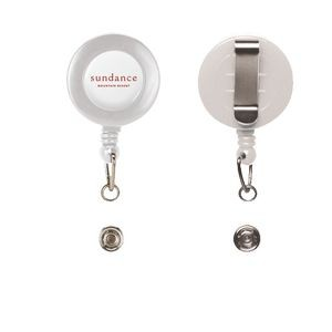 Retractable Badge Reel w/ Belt Clip