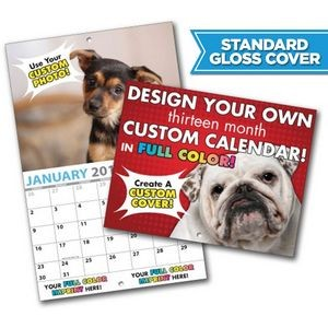 Large Custom Photo 13 Month Appointment Wall Calendar