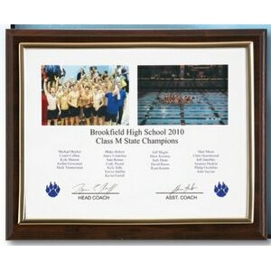 "Cherry Finish Certificate Frame (8.5"" X 11"")"
