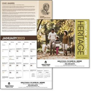 Triumph® African American Heritage Family Calendar