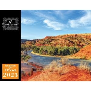 Galleria Wall Calendar 2020 Scenes of Texas (Low Price )