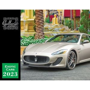 Galleria Wall Calendar 2020 Exotic Cars (English) (Low Price )