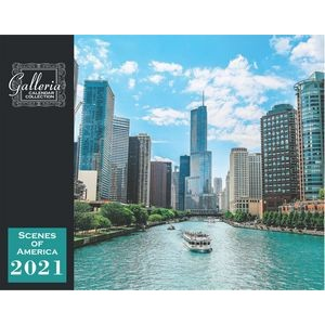 Galleria Wall Calendar 2020 Scenes of America Eng. (Low Price )