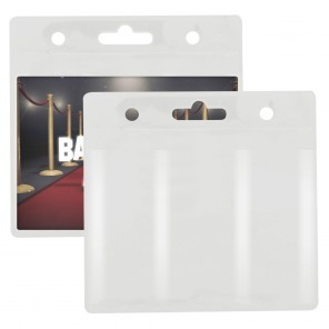 "Blank Clear ID/Badge Holder (5""Wx5""H) (Direct Import - 10 Weeks Ocean)"