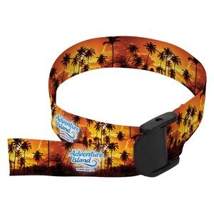 "3/4"" Sublimated w/ one stitching Wrist Lanyard (Direct Import - 10 Weeks Ocean)"