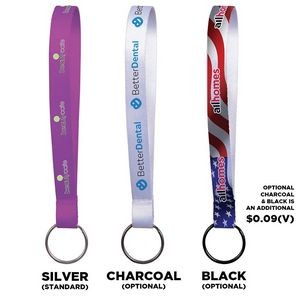 "1/2"" Sublimation Key Chain Lanyard (Direct Import - 10 Weeks Ocean)"