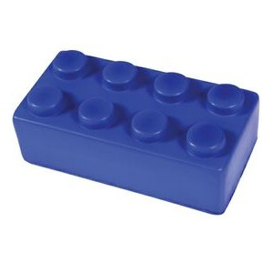 Building Block Stress Reliever - Blue