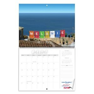 Standard Personalized Image Wall Calendar